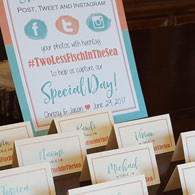 Place Cards, Menus & Signs