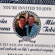 Cruise Wedding Evite