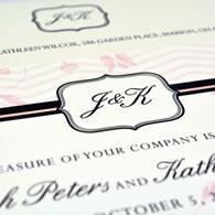 Peters Wedding Invite